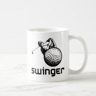 Libertino del golf taza clásica