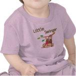 Libertino del mono del chica pequeño camiseta