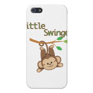 Libertino del mono del muchacho pequeño iPhone 5 cobertura