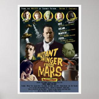 Libertino del mutante de Marte un ESTILO A de la h Posters