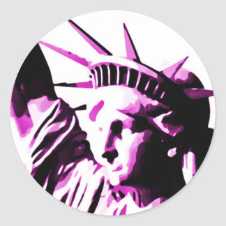 Liberty1 Classic Round Sticker