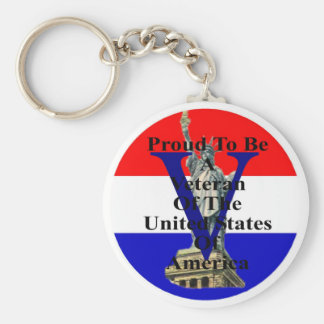liberty 2 red white and blue keychain