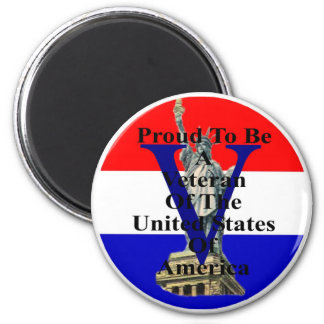 liberty 2 red white and blue magnet
