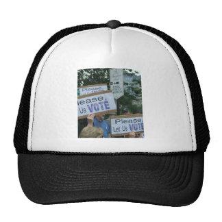 Liberty above the rabble trucker hat