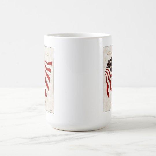 Liberty and Justice Coffee Mug