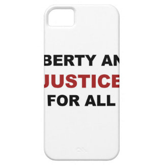 Liberty and JUSTICE for All iPhone SE/5/5s Case