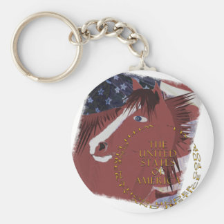 Liberty  and Justice For All Keychain
