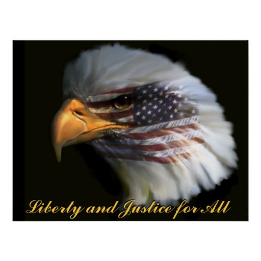 Liberty and Justice for All Print