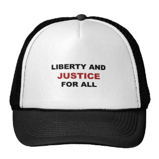 Liberty and JUSTICE for All Trucker Hat