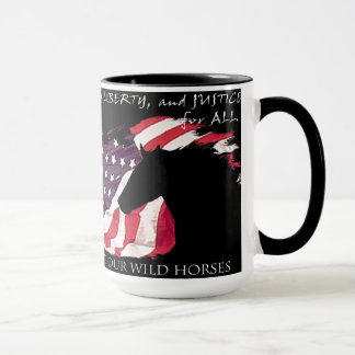 Liberty and Justice for Mustangs! Mug