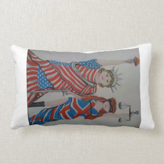 Liberty and Justice USA UK Pillows