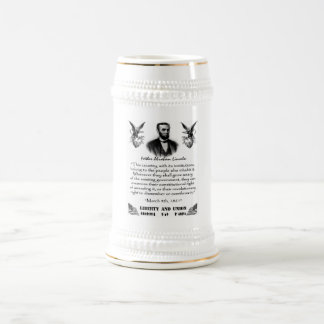 Liberty And Union Beer Stein