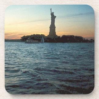 Liberty at Sunset Coaster Set