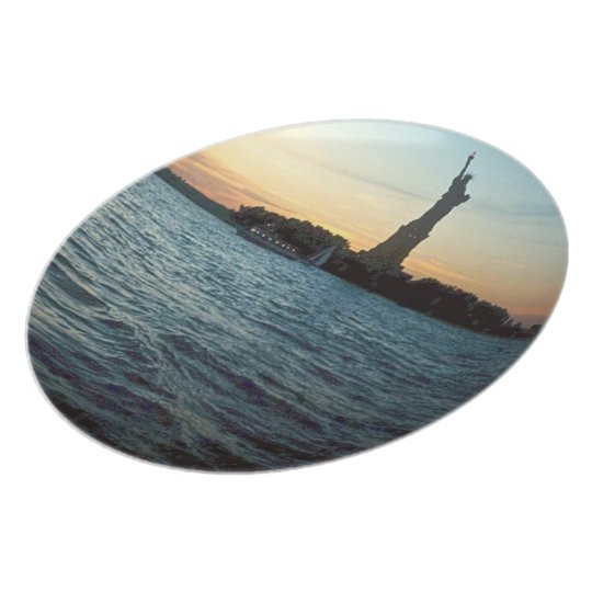 Liberty at Sunset Plate