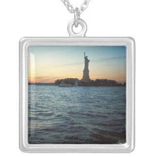 Liberty at Sunset Silver Necklace