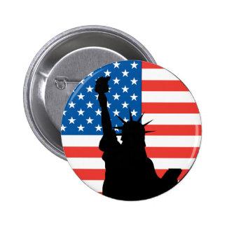 Liberty Badge Button