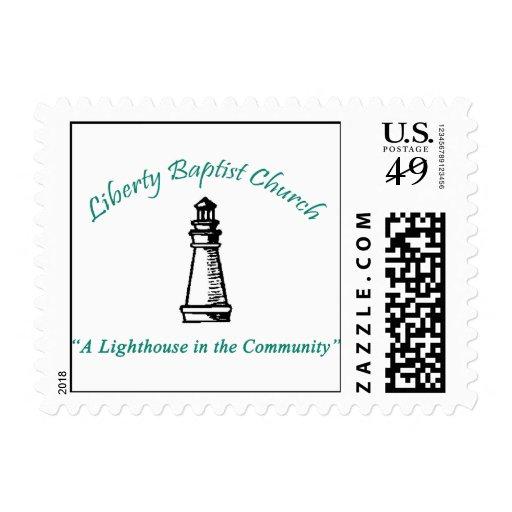 Liberty Baptist Church Stamps