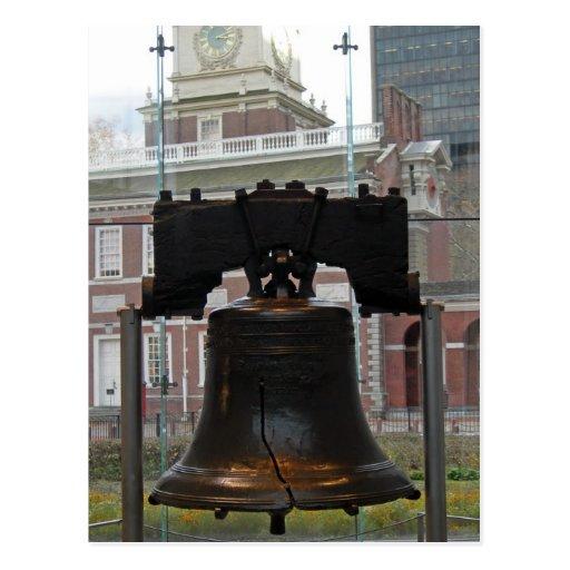 Liberty Bell 001 Tarjetas Postales