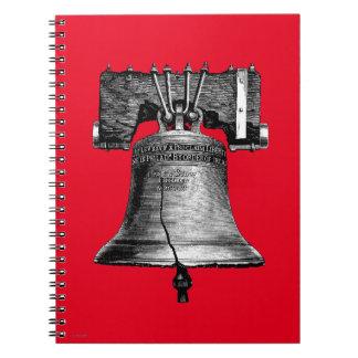 Liberty Bell, 19Th Century Spiral Notebook