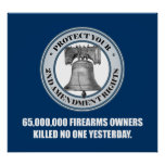 Liberty Bell -65 Million Poster