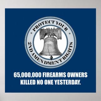 Liberty Bell -65 Million Poster