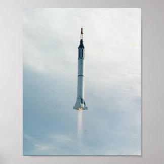Liberty Bell 7 (lanzamiento de Mercury Redstone 4) Impresiones