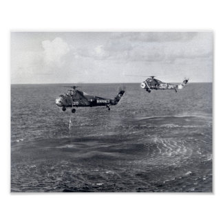 Liberty Bell 7 Splashdown & Recovery Posters
