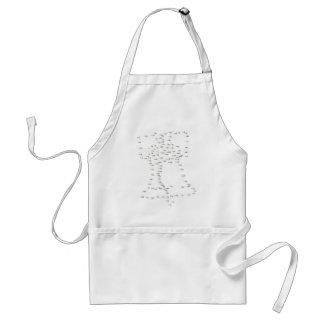 liberty bell adult apron