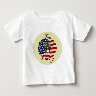 Liberty Bell and Flag Tea Party Baby T-Shirt