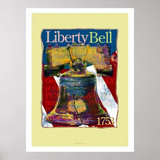 Liberty Bell Art Poster