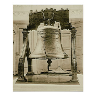 Liberty Bell at Independence Hall 1901 Poster