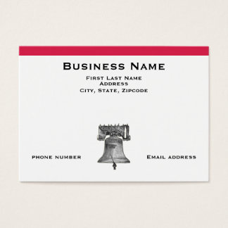 Liberty Bell Business Card
