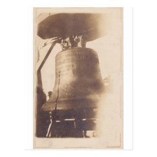 Liberty Bell circa WWI Postal