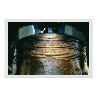 Liberty Bell, encargado en 1751 (bronce) (véase a Poster