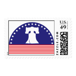 Liberty Bell Flag Stamps