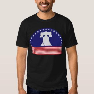 liberty bell flag t shirt