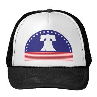 liberty bell flag trucker hat