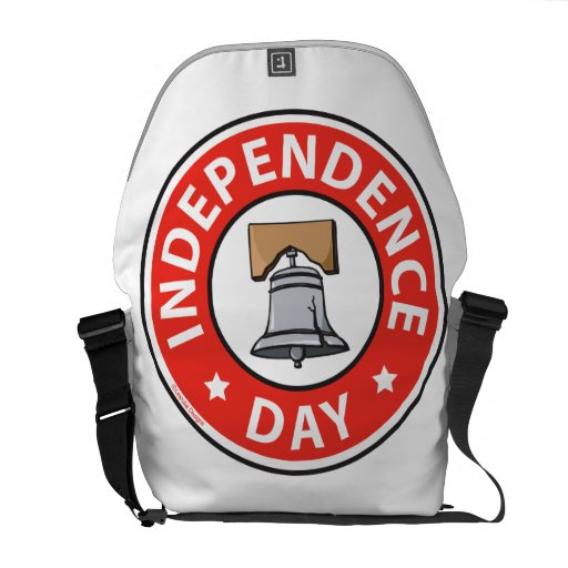 Liberty Bell Independence Day Messenger Bags