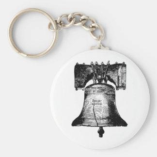 Liberty Bell Llavero Redondo Tipo Pin