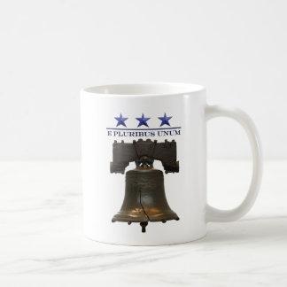 Liberty Bell Classic White Coffee Mug