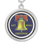 Liberty Bell necklace
