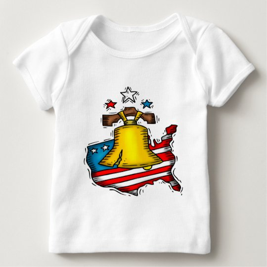 Liberty Bell Patriotic Baby T-Shirt