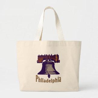 Liberty Bell Philadelphia Bolsa Tela Grande