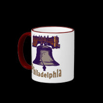 Liberty Bell Philadelphia mugs