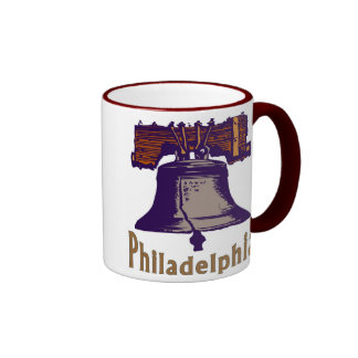 Liberty Bell Philadelphia Ringer Coffee Mug