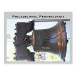 liberty bell, Philadelphia, Pennsylvania Postcard