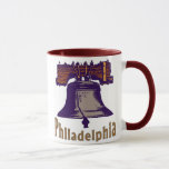 Liberty Bell Philadelphia Taza