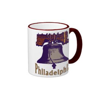 Liberty Bell Philadelphia Tazas