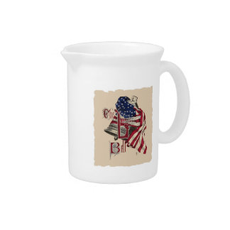 Liberty Bell Pitcher