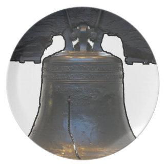 Liberty Bell Platos Para Fiestas